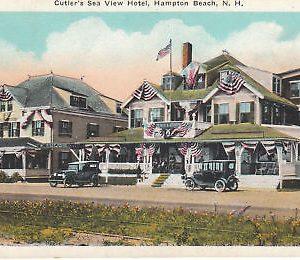 F5811 NH, Hampton Beach Sea View Hotel Postcard