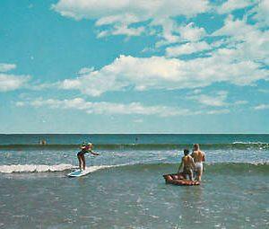 D8943 NH, Rye Beach Jenness Beach Postcard