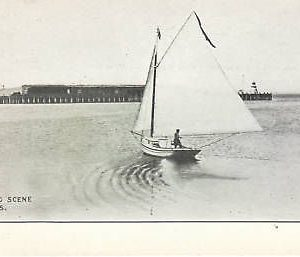 D9060 Canada, Digby Yachting Scene Postcard