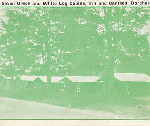 D9309 Canada, Dorchester Wards 7 Green/Cabins Postcard