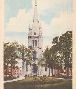 D9339 Canada, 3 Rivers Cathedral/Park Postcard