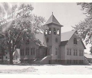 E0011 IA, Scranton Methodist Church Photo Postcard