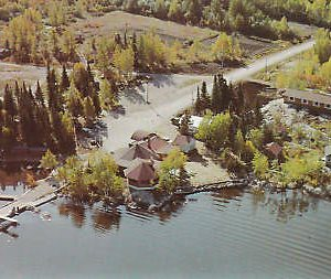 D9590 Canada, Moonbeam Moonlight Camp Postcard