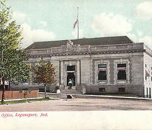 F6238 IN, Logansport Post Office Postcard