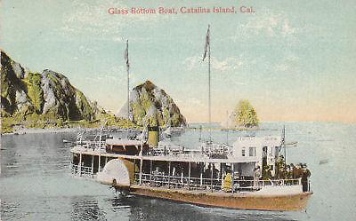 Matchless glass bottom boat catalina island