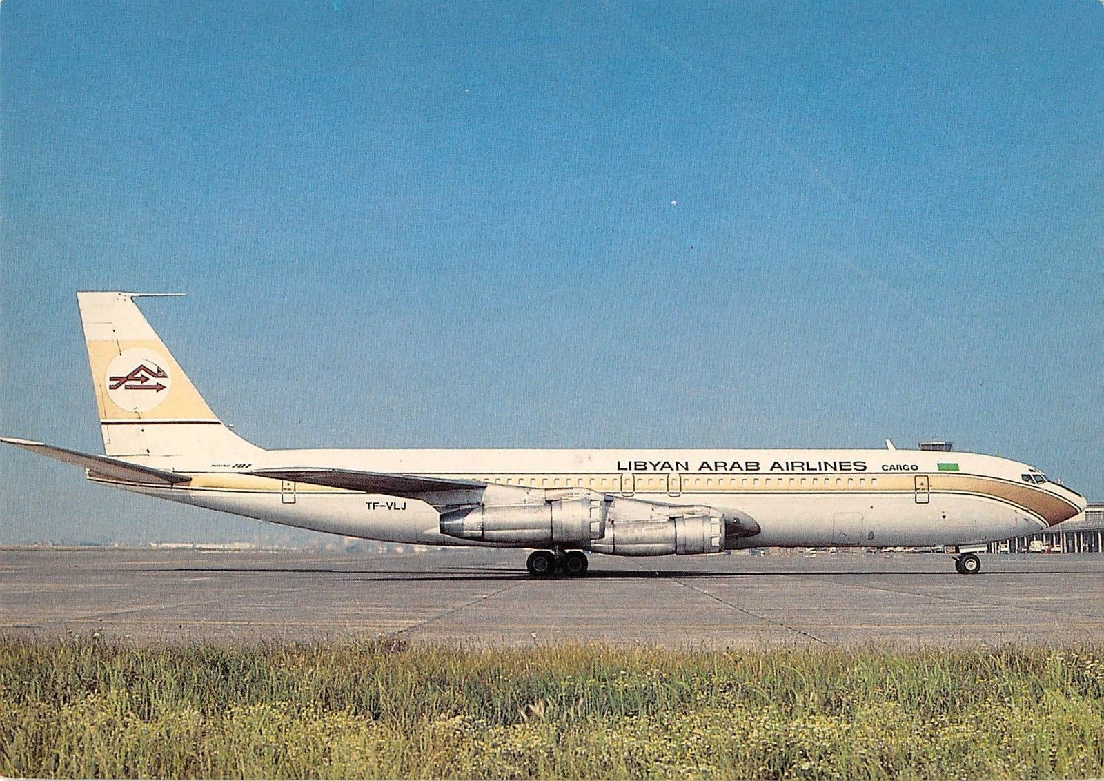 Boeing 707-324C - Libyan Arab Airlines Cargo (Eagle Air of ... |Libyan Airlines Cargo Boeing 707