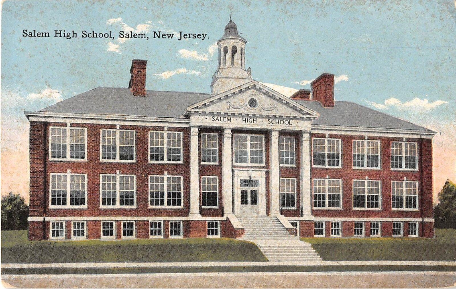 Salem New Jersey Salem High School Exterior Front View