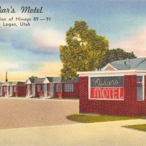 Salt Lake City Utah Office Of The Wilson Hotel Antique