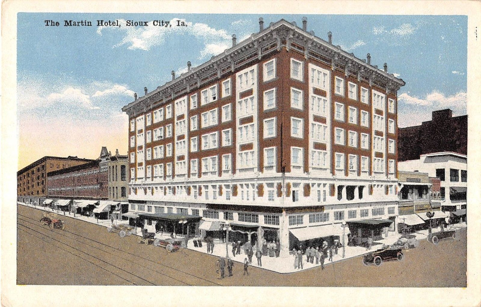 Sioux city iowa the martin hotel general exterior view for Craft stores in sioux city iowa