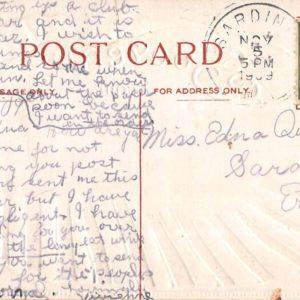 Chafee New York Souvenir Scallop Shell Antique Postcard K19433