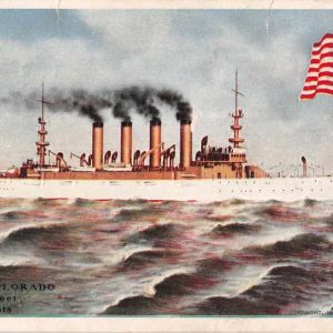 Cruiser Colorado Antique Postcard J50030