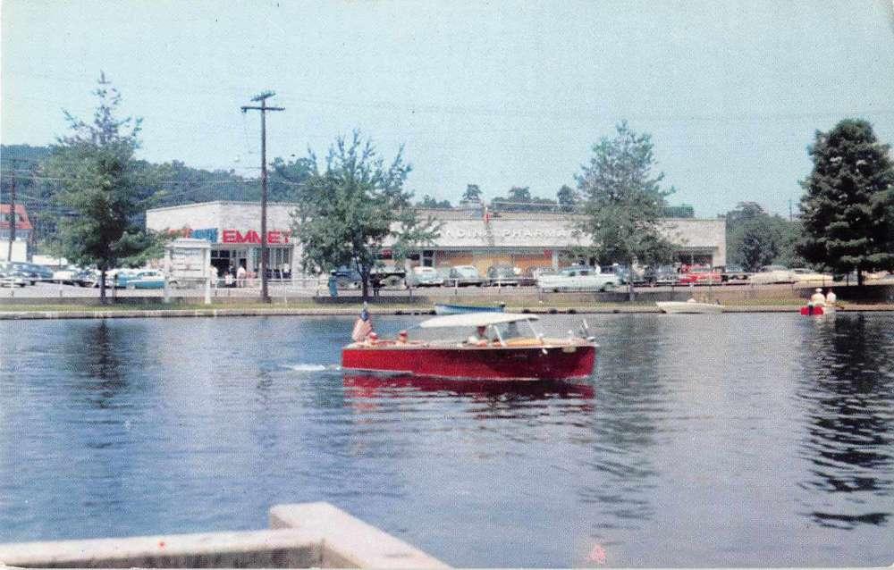 Lake Hopatcong New Jersey Boat Landing And Pharmacy