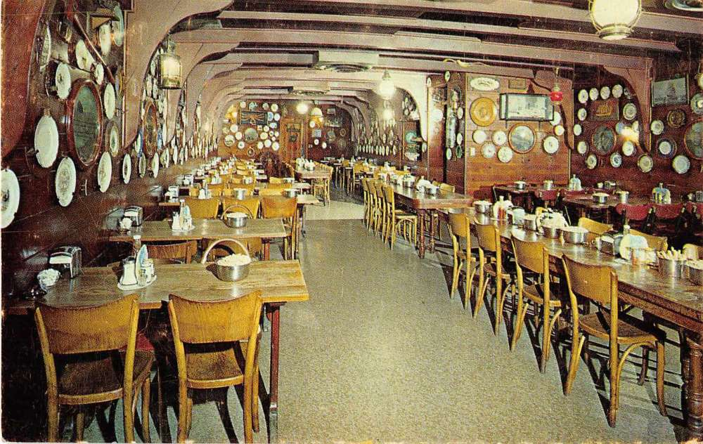 Portland Oregon Oyster Bar Restaurant Vintage Postcard J54924 Mary L Martin Ltd Postcards