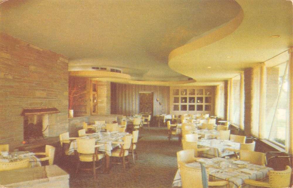 Saint Joseph Michigan Schulers Restaurant Terrace Room Vintage Postcard K38228