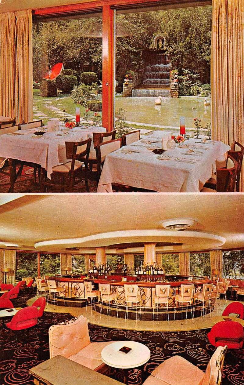 Oriskany New York Trinkaus Manor Motor Lodge Bar Vintage