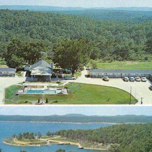 Lakeview Arkansas Bay Breeze Resort Vintage Postcard J56794