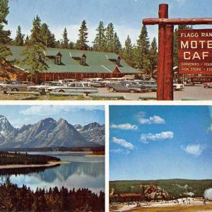 Moran Wyoming Flagg Ranch Vintage Postcard J56796