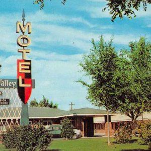 Worland Wyoming Sun Valley Motel Vintage Postcard J56797