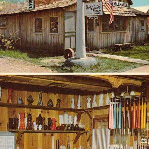 Nashville Indiana Village Candlemaker Vintage Postcard J56799
