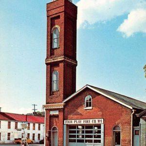 Madison Indiana Fair Play Fire Co Vintage Postcard J56800