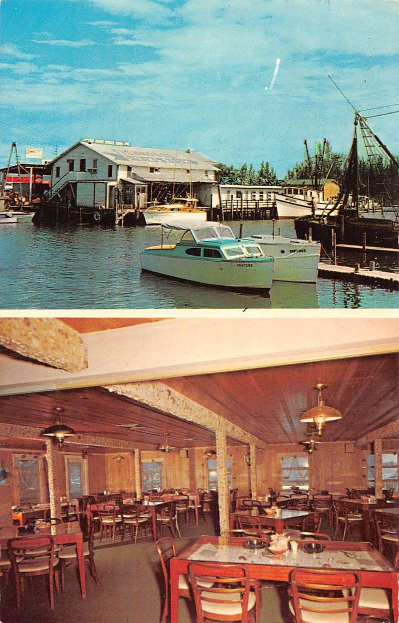 Naples florida scenic views fishhouse dining room boat for Martins fish house
