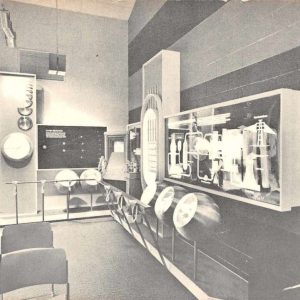 Harrisburg Pennsylvania Nuclear Generating Station Interior Postcard J57943