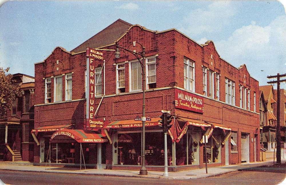 Union New Jersey Millman Poloso Street View Vintage