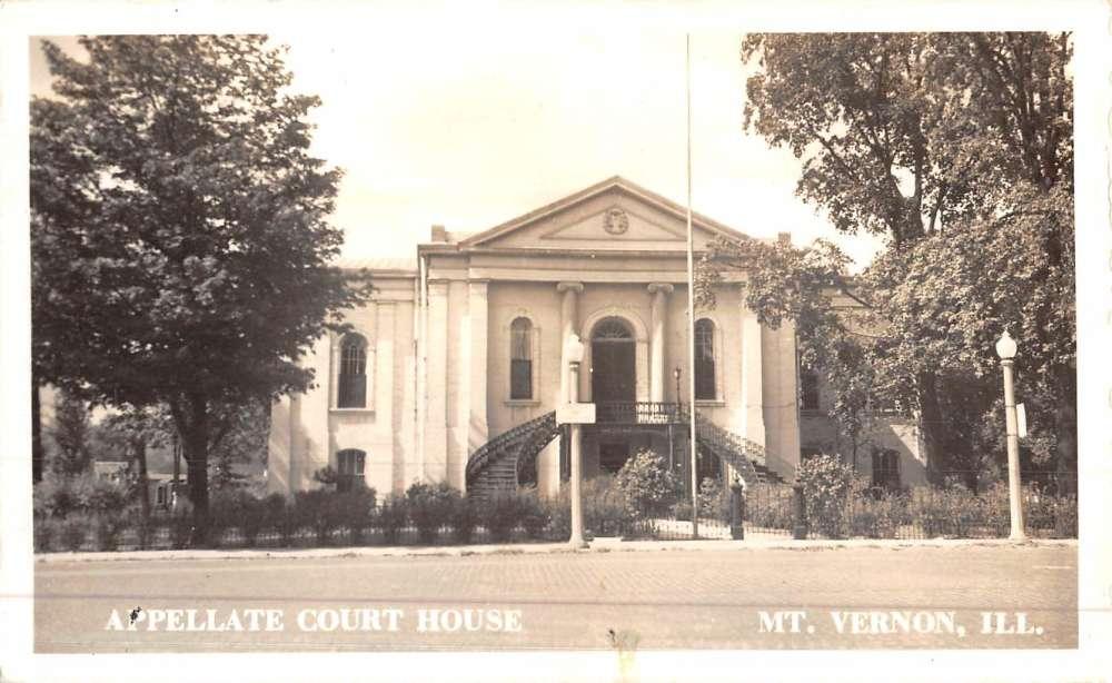 Mt Vernon Illinois Appellate Court House Real Photo ...