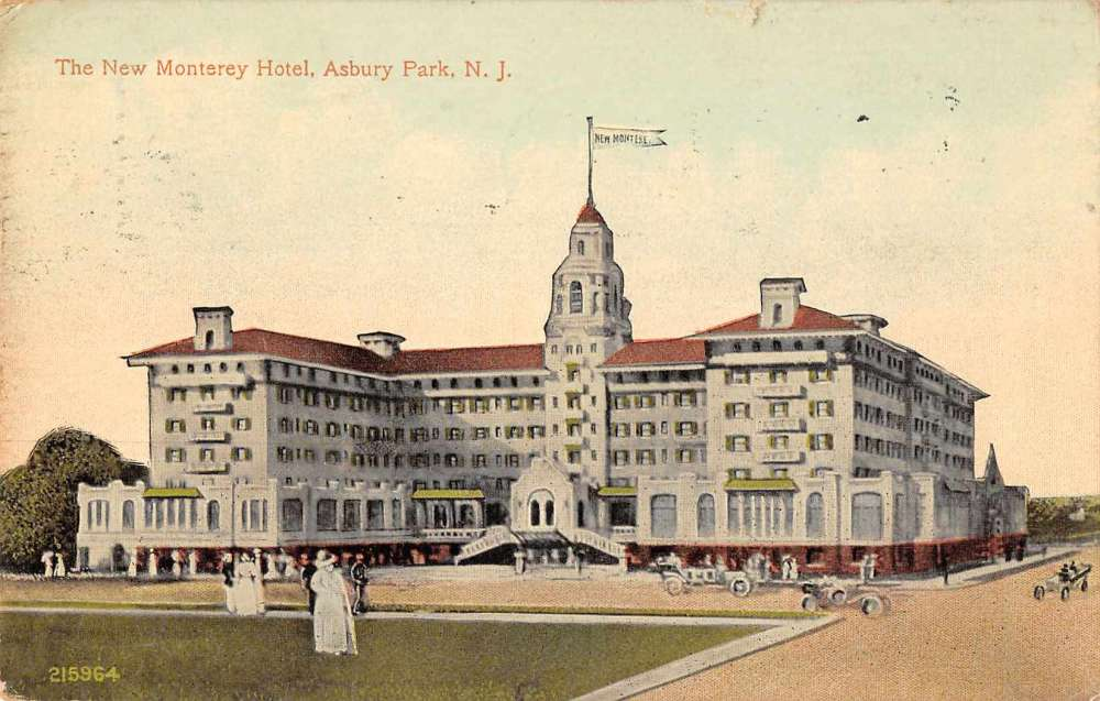 Asbury Park New Jersey Monterey Hotel Exterior View