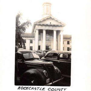 Mt Vernon Kentucky Rockcastle Court House Real Photo Antique Postcard K55480