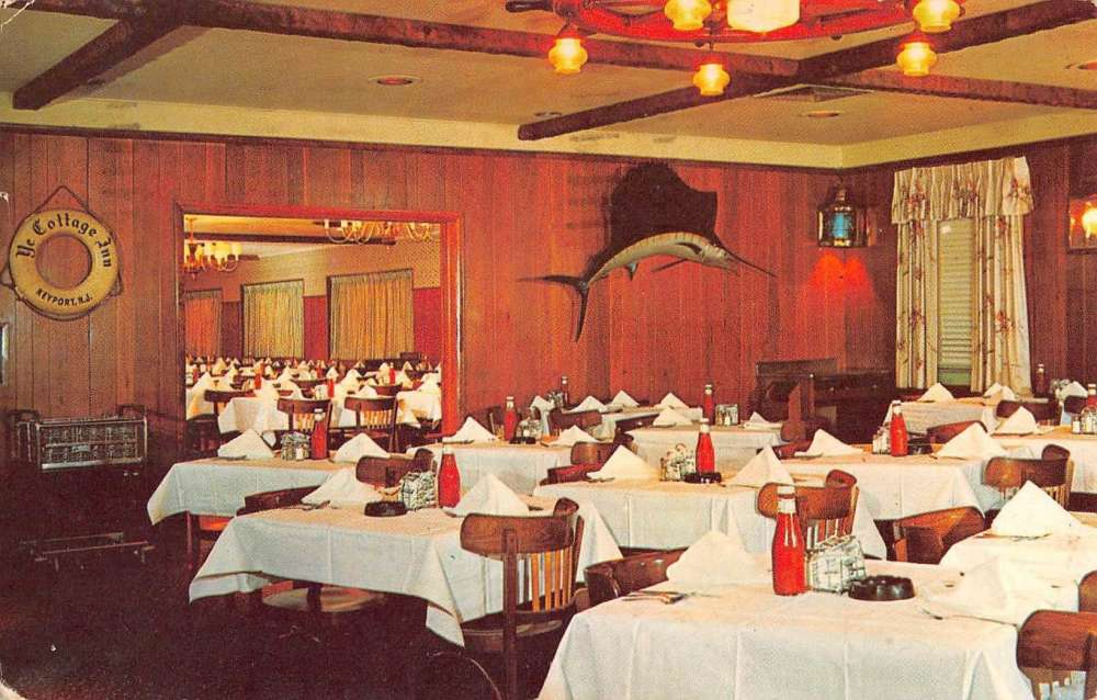 Keyport New Jersey Ye Cottage Inn Dining Interior Vintage