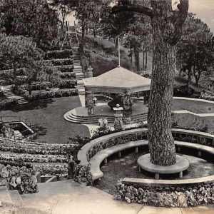 Baguio Philippines Camp John Hay Amphitheatre Real Photo Antique Postcard J63365