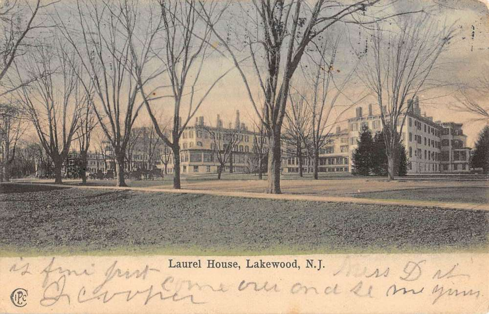 Lakewood New Jersey Laurel House Street View Antique