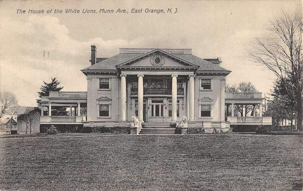 East Orange New Jersey House Of White Lions Antique