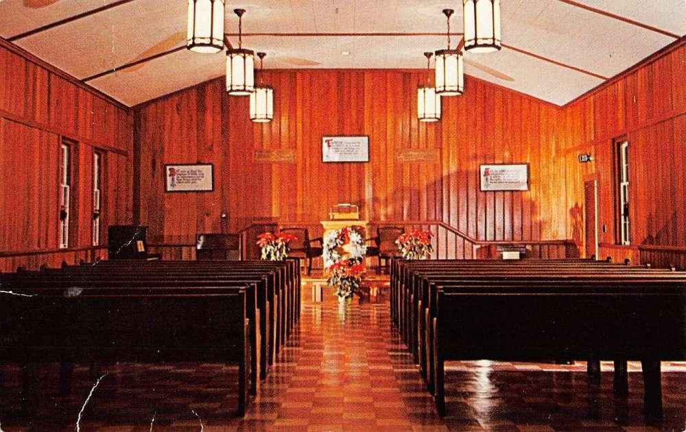 Keswick Grove New Jersey Colony Chapel Interior Antique