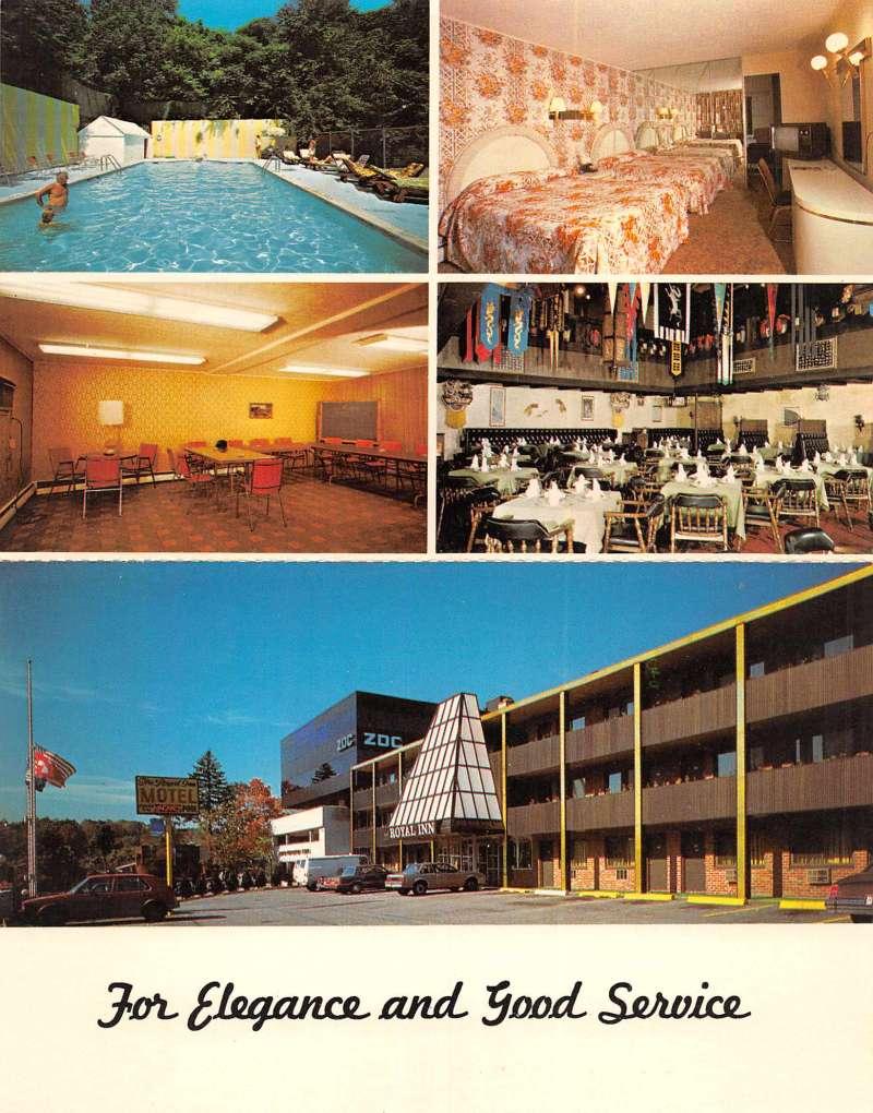 Manhassett Long Island New York Royal Inn Motor Lodge Bi