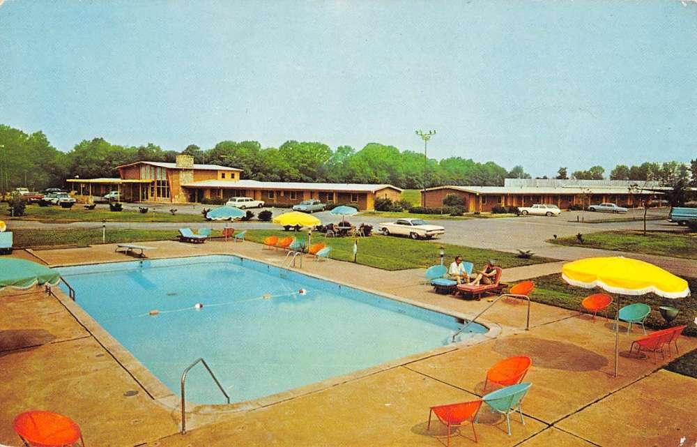 Bordentown New Jersey Easterner Motor Lodge Vintage