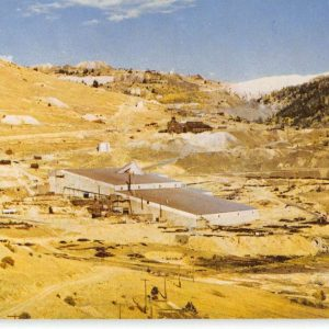 Cripple Creek Colorado Carlton Mill Birdseye View Vintage Postcard K62551