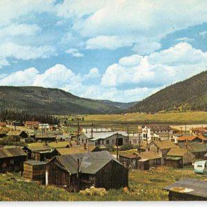 Alma Colorado Birdseye View Of City Vintage Postcard K62552