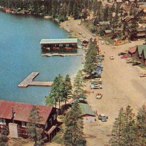 Rocky Mountain Park Colorado Grand Lakes Beach Vintage Postcard K62556