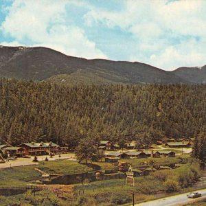 Bailey Colorado Moore Dale Village Birdseye View Vintage Postcard K62559