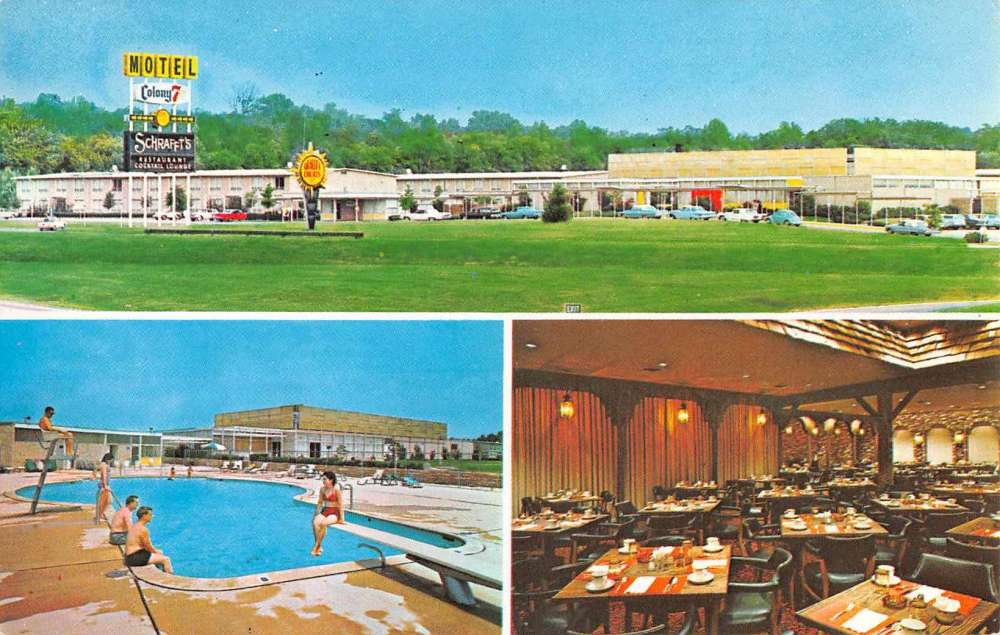 Annapolis maryland colony 7 motor inn multiview vintage for Klakring motor co annapolis