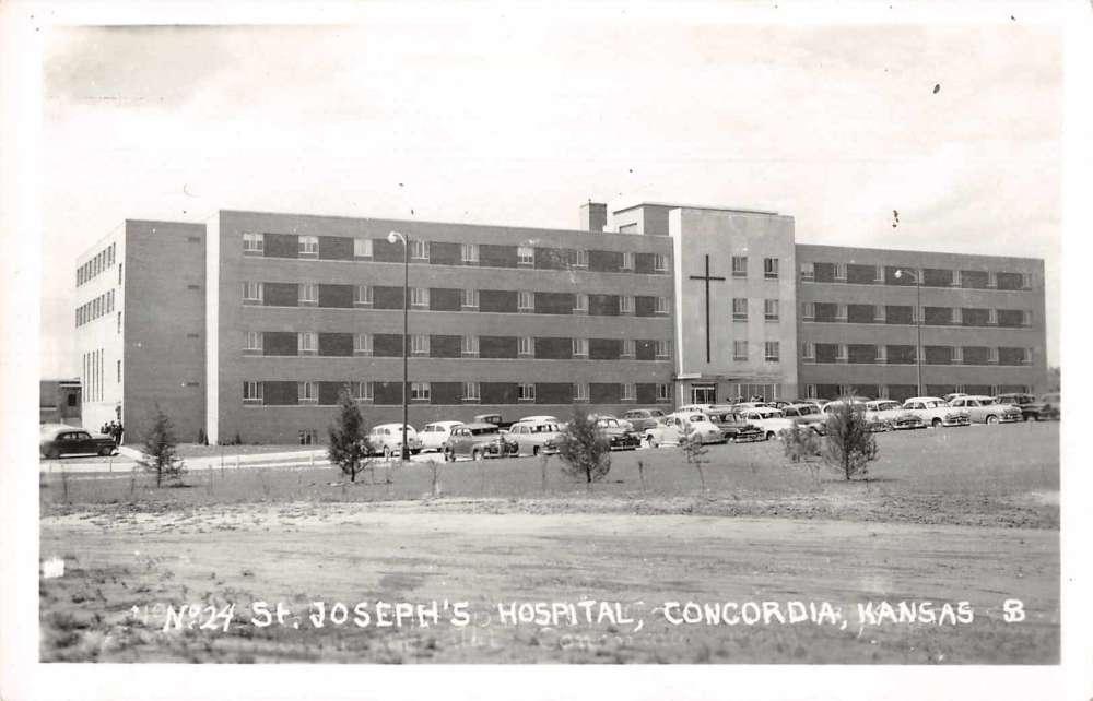 Concordia Hospital in Concordia, Kansas Vintage