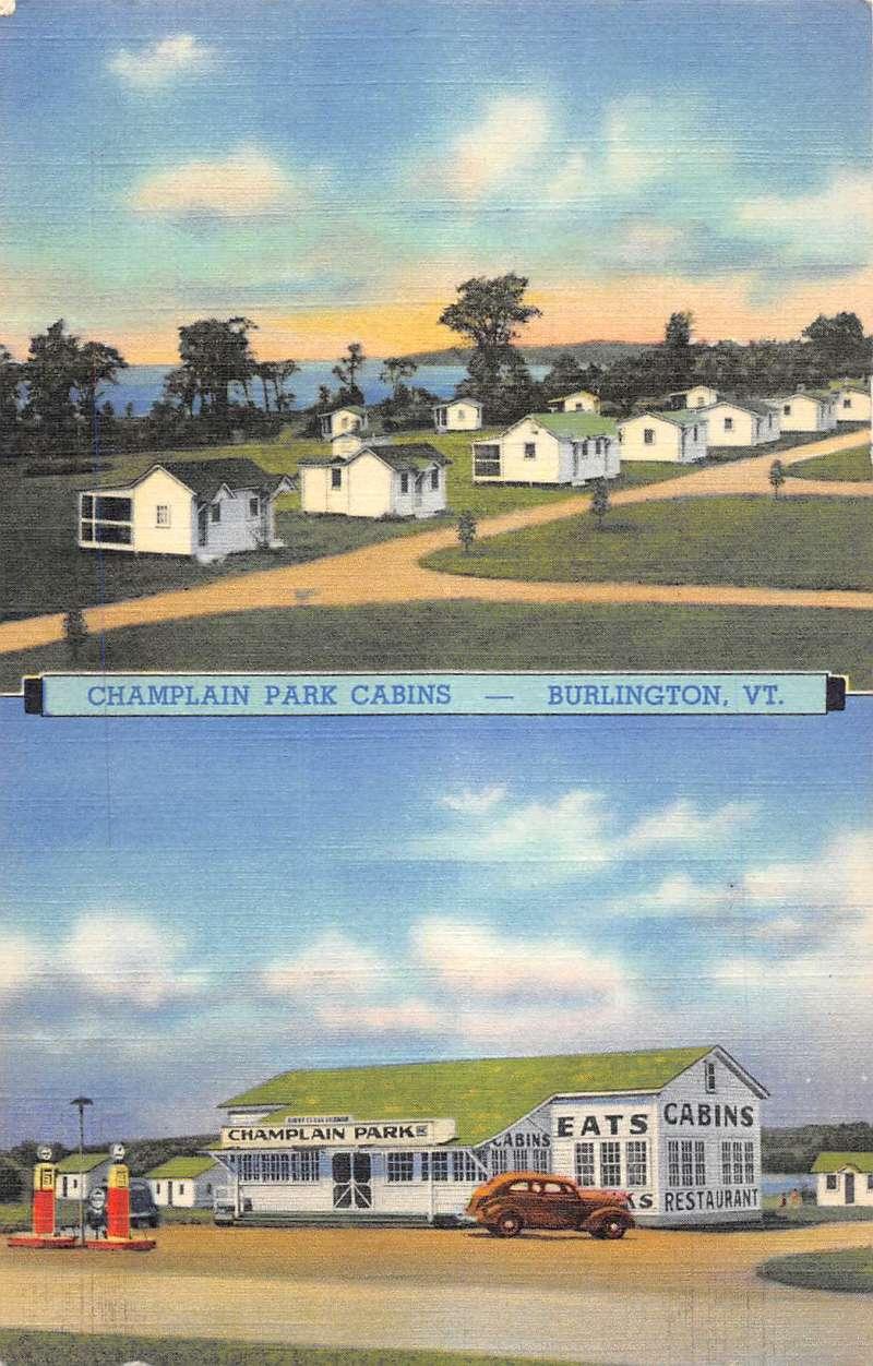 Burlington vermont champlain park cabins multiview antique for Cabins burlington vt
