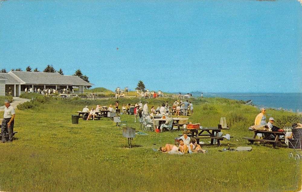Georgetown Maine Reid State Park Scenic View Vintage Postcard K90087